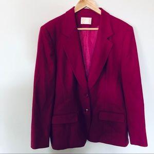 Pendleton Virgin Wool Blazer